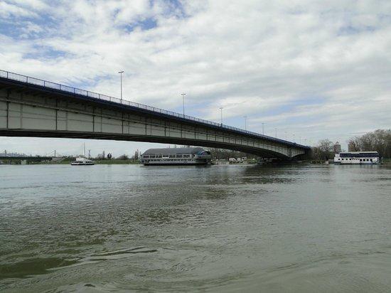Balkan Orient Express Hotel: Bridge over Sava River