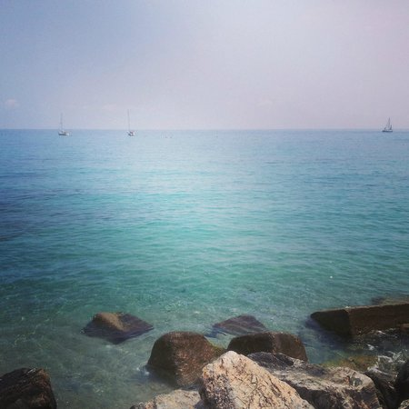 Varigotti, Italia: Baia dei Saraceni
