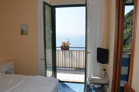 Hotel Doria: Blick auf Balkon
