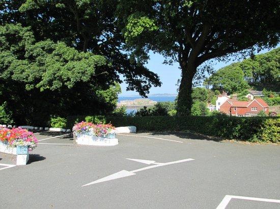 Best Western Hotel De Havelet: View From Car Park