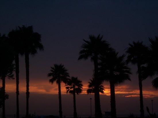 Beach House Hotel Hermosa Beach : Romantic sun sets