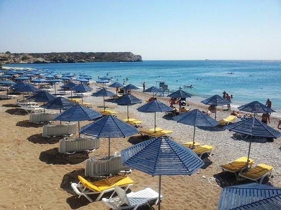 Kolymbia Beach Hotel: spiaggia kolymbia beach