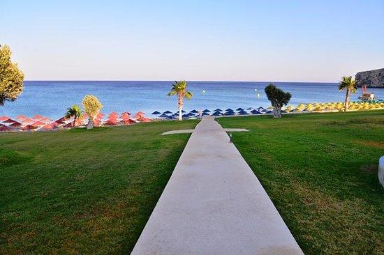 Kolymbia Beach Hotel: villaggio kolymbia beach
