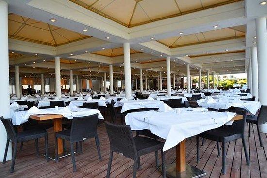 Kolymbia Beach Hotel: ristorante kolymbia beach
