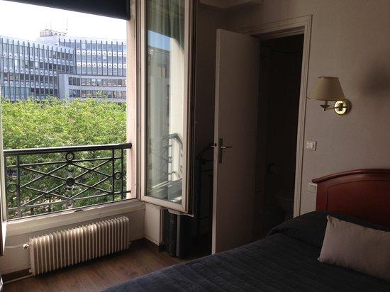 Hôtel de Genève : Vue depuis la chambre