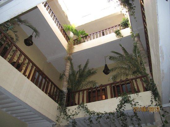 Les Terrasses d'Essaouira: patio