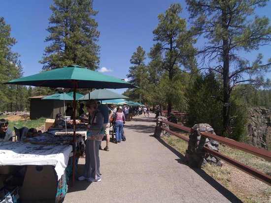 Vendor Booths at Oak Creek Canyon