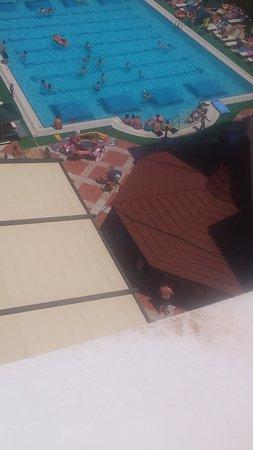 Club Aida: 5th floor pool view