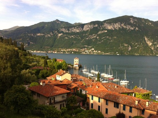 Hotel Belvedere Bellagio: View from Outdoor Solarium