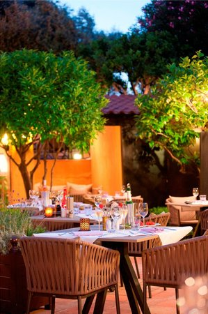 Restaurant Le Patio: Terrasse Le Patio