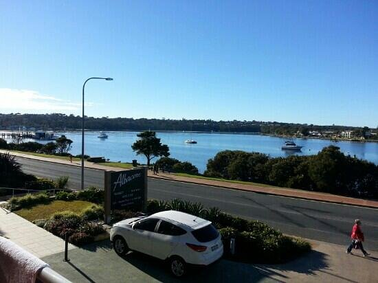 Albacore Apartments : view from our apartment verandah