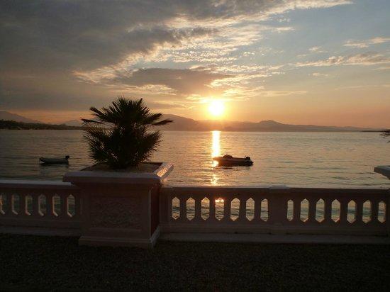 Villa Garuti: view from door