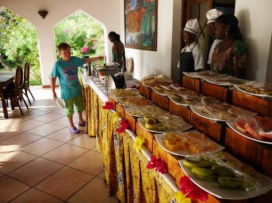 Protea Hotel Amani Beach: Breakfast