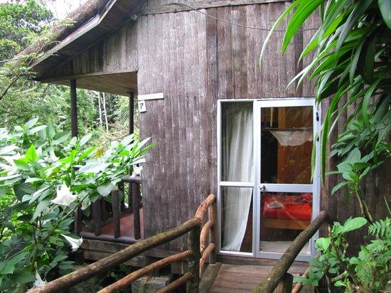 Eingang zur Hütte Nr 7