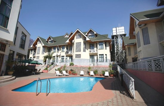 East African All Suite Hotel & Conference Centre: MAIN HOTEL