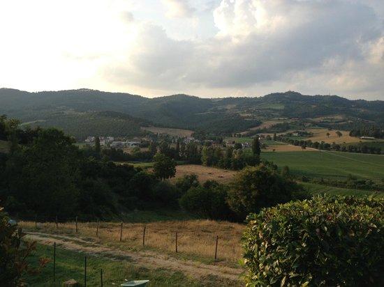 Ristorante Calagrana : View from terrace