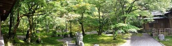 Komyozenji Temple: パノラマモードで撮影