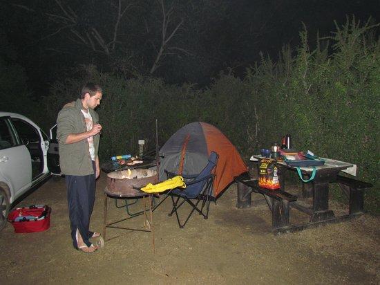 Addo Rest Camp: Our campsite, T4