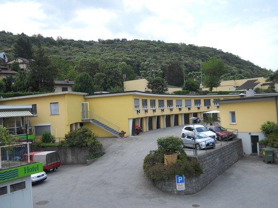 Hotel Vezia: View from Hotel Garden