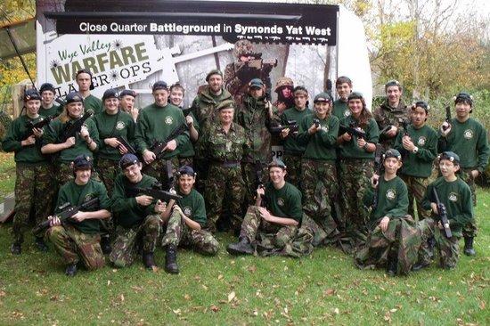 Wye Valley Warfare Laser Ops