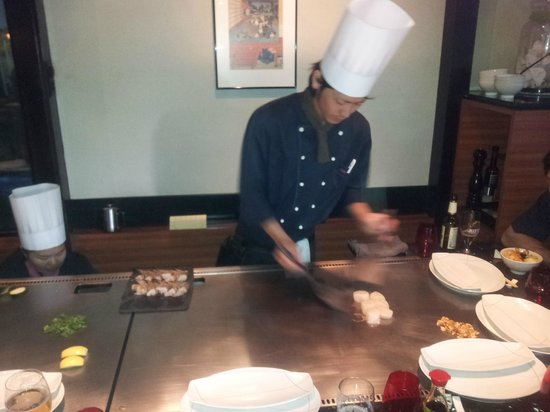 Restaurant Fujiya of Japan : Teppanyaki 1