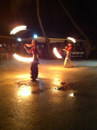 "The Palms at Pelican Cove: Caribbean Night- ""Flaming Gypsies"""