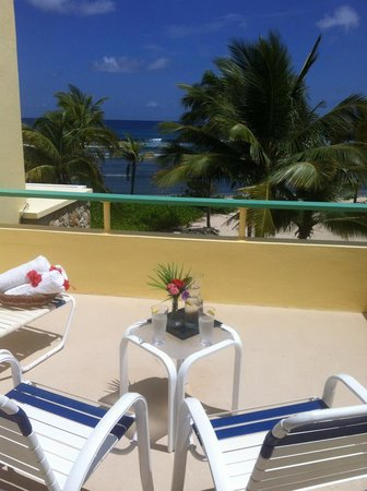 The Palms at Pelican Cove: Roof top suite patio view
