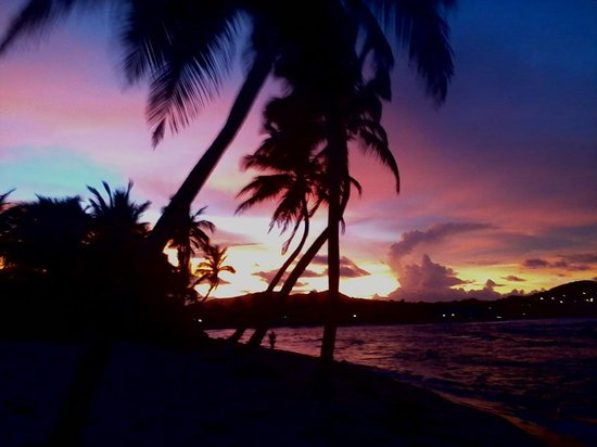 The Palms at Pelican Cove: Amazing sunset facing west