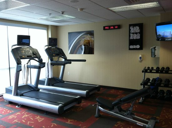 Courtyard Ontario Rancho Cucamonga: Gym