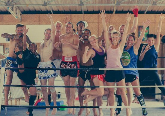 Diamond Muay Thai: Team Diamond.