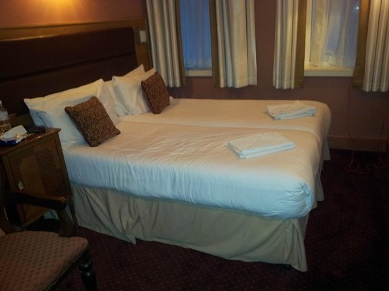 Trebovir Hotel: The 2 single beds