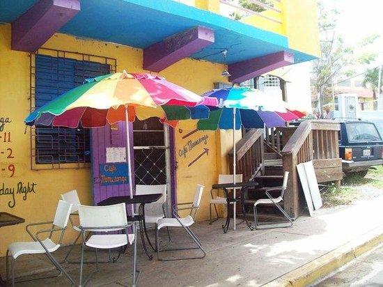 Mamasongas: Entrance to Cafe Mamasonga