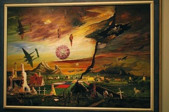 Neue Nationalgalerie: Example of work shown