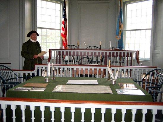 Innenansicht Old State House