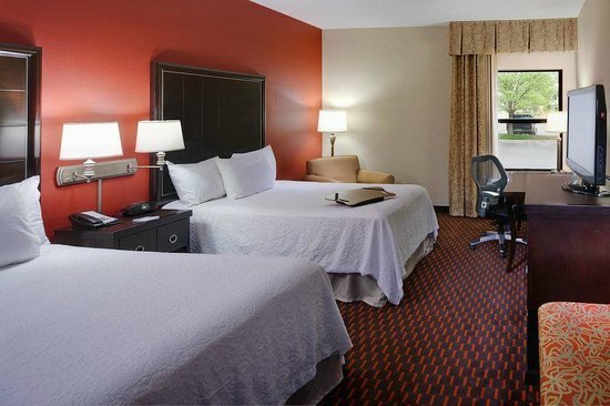 Hampton Inn Mt. Pleasant: Standard Room with Two Double Beds