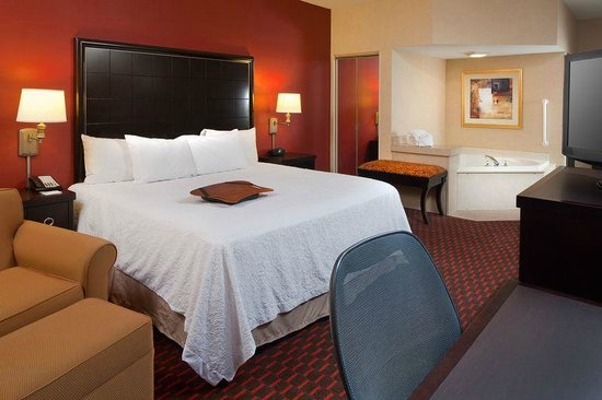 Hampton Inn Mt. Pleasant: King Whirlpool Room