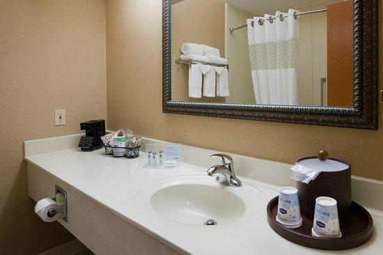 Hampton Inn Mt. Pleasant: Standard Bathroom