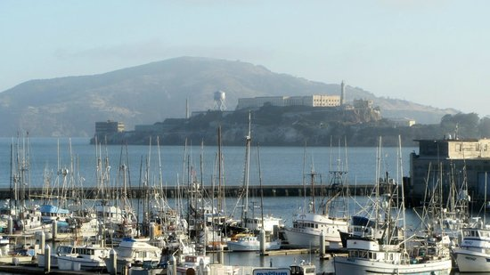 Argonaut Hotel, A Noble House Hotel: View of Alcatraz from our Room