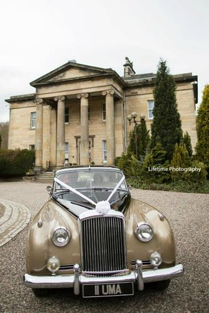 Balbirnie House: Bentley at Balbirnie - photo by Lifetime