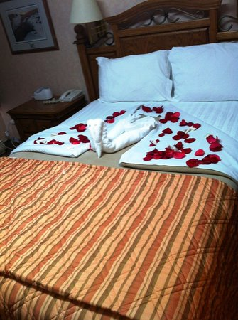 Wescana Inn: Rooms - Turndown service1