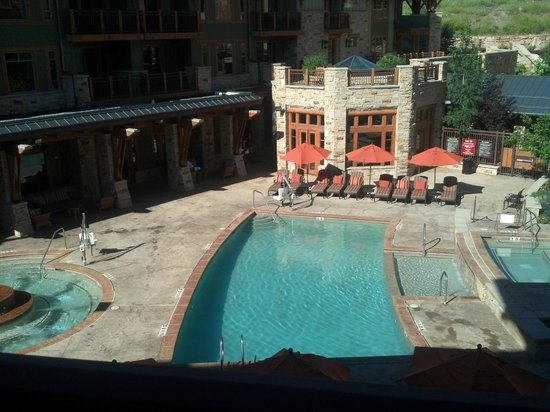 Hyatt Centric Park City: Pool area
