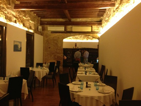 Ola del Mar: The Inside dining room