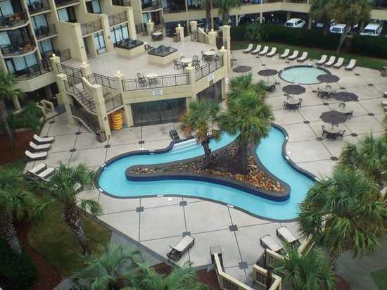 Lazy River Picture Of Doubletree Resort By Hilton Myrtle Beach Oceanfront Tripadvisor