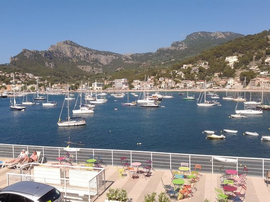 Citric Hotel Soller: View from room 105