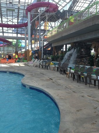 Clinton, OK : Water Park Inside