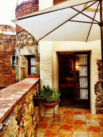 Casa Matilda Bed and Breakfast: terraza de uso privado de la hab Terrasseta