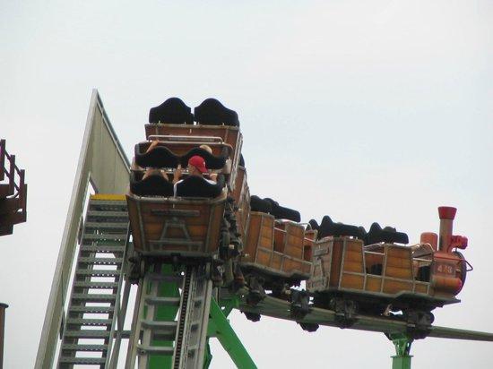 Gillian's Wonderland Pier: Good roller coaster
