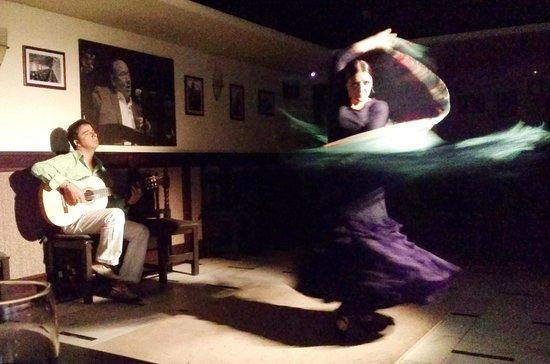 Saborea el Flamenco en Bodegas Mezquita : Bailaora