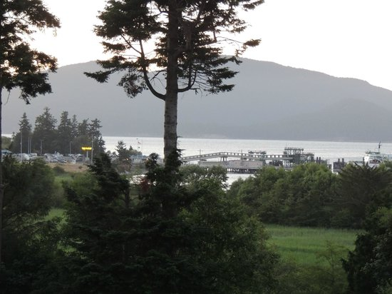 Anacortes Ship Harbor Inn: View from room
