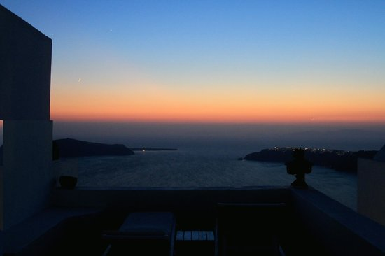 Heliotopos Hotel: al tramonto